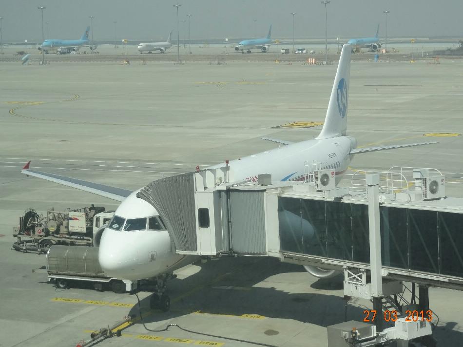 Airbus A320 Владавиа в аэропорту Сеула