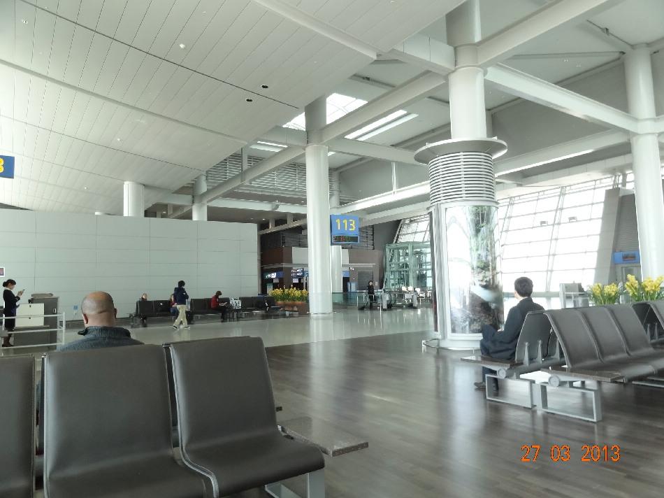 Выход на посадку в аэропорту Сеул Инчхон