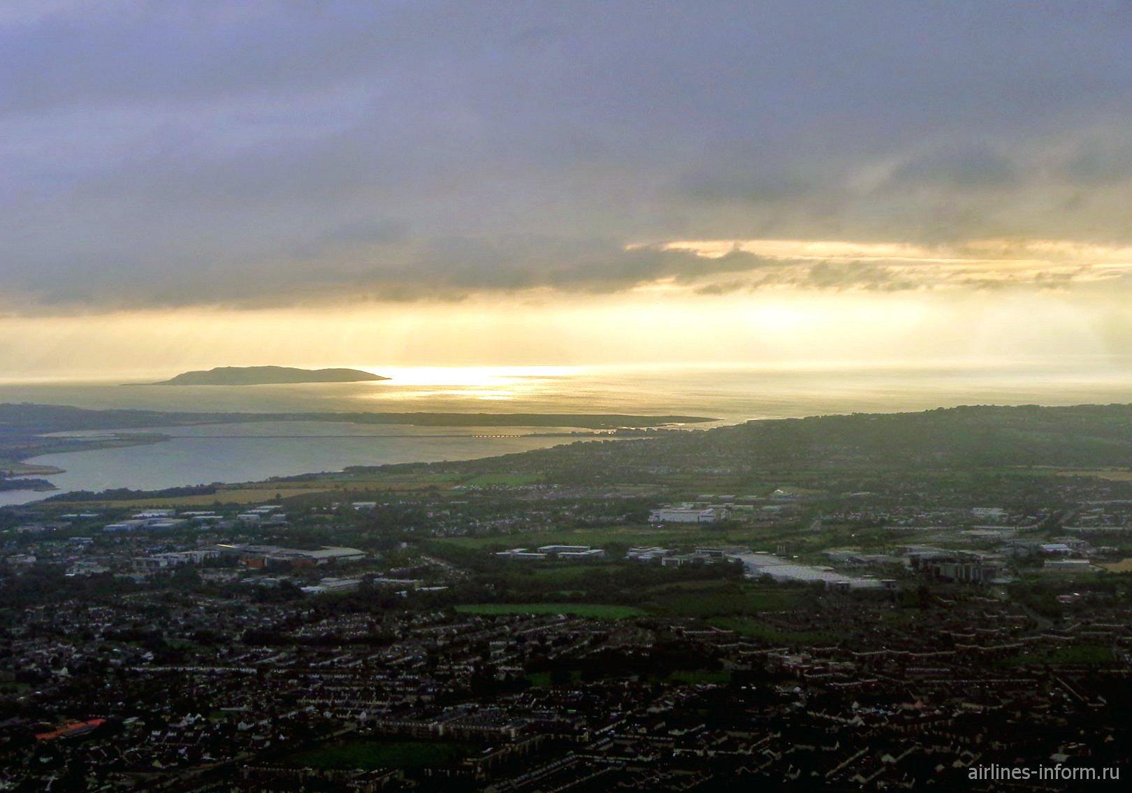 Рассвет над Дублином