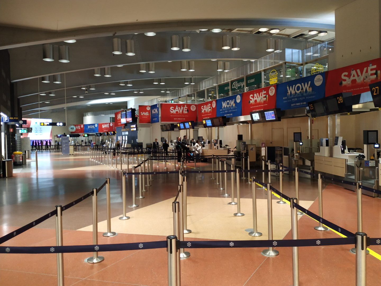 Зона регистрации в терминале 2 аэропорта Стокгольм Арланда