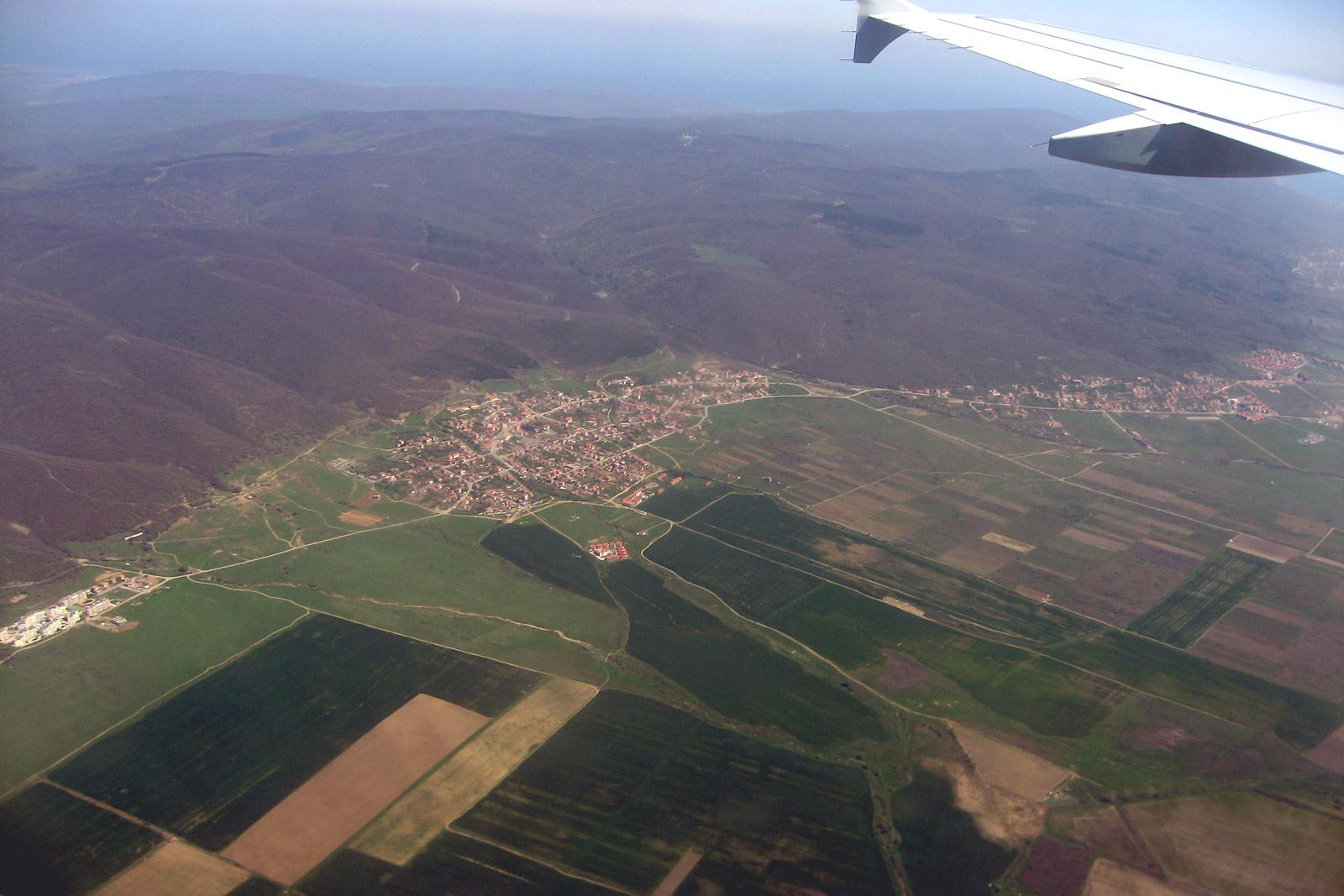 В полете над Болгарией