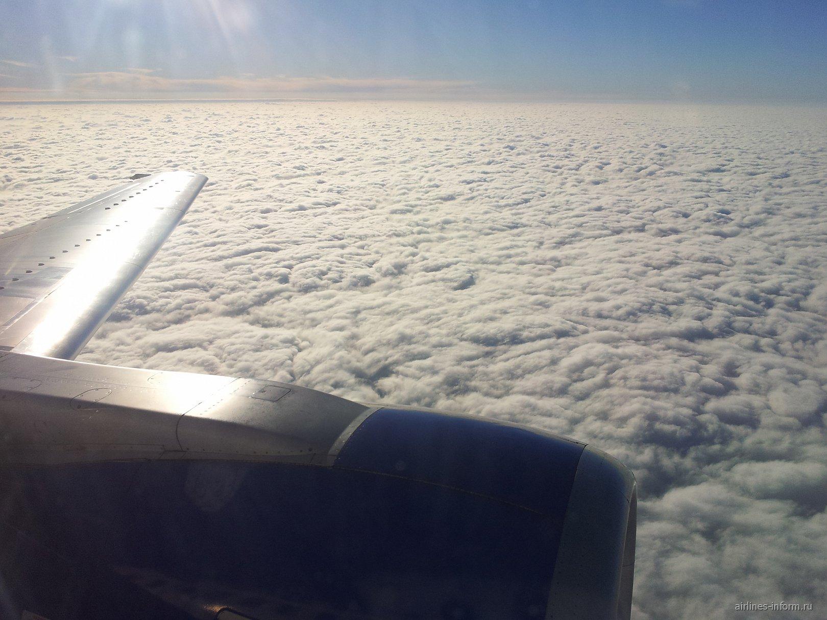Рейс Ростов-Москва авиакомпании Трансаэро