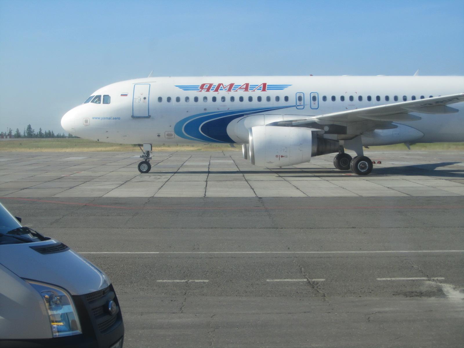 Эрбас А-320 авиакомпании Ямал