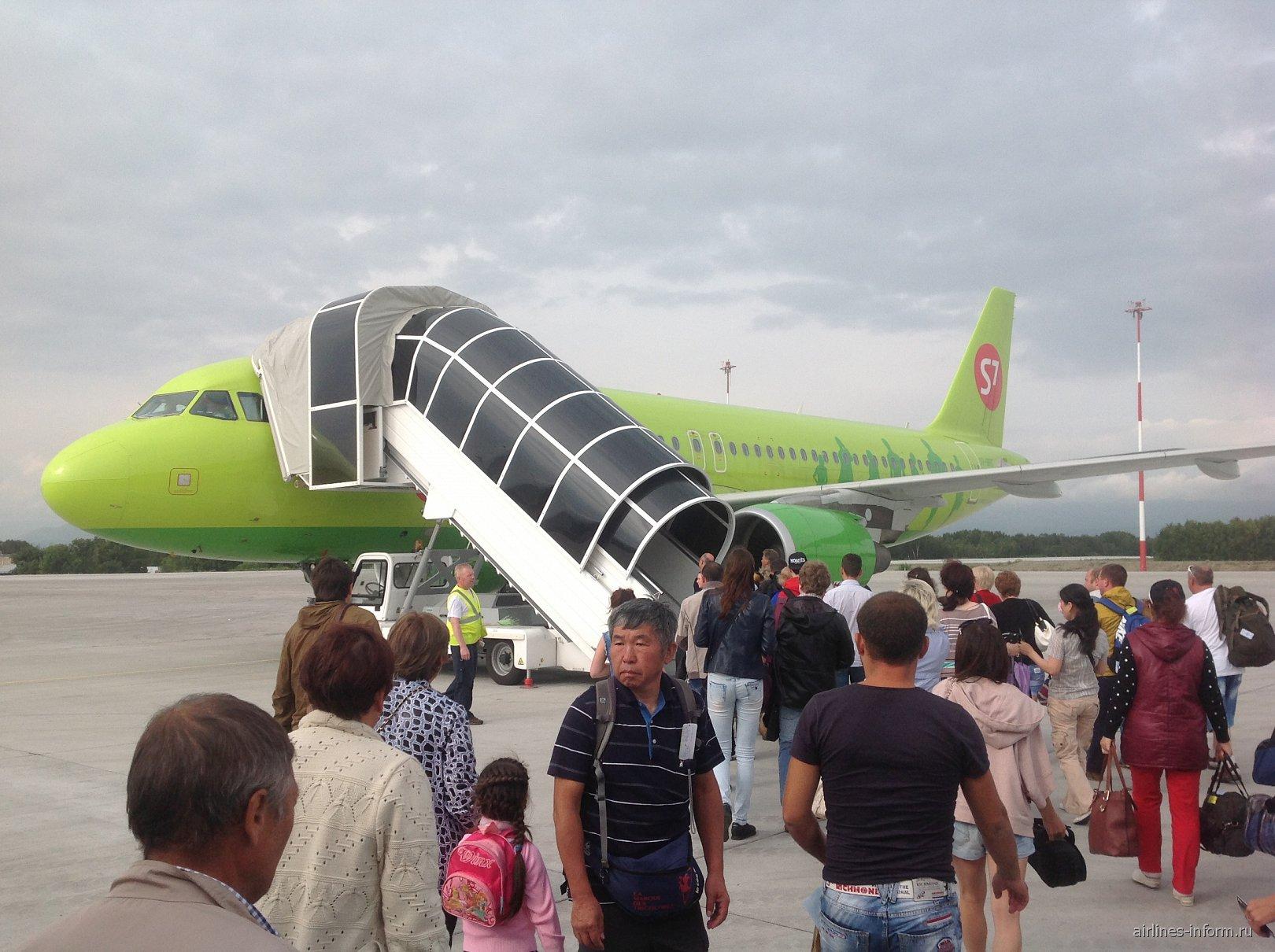 Полет из Петропавловска-Камчатского в Хабаровск с S7 airlines