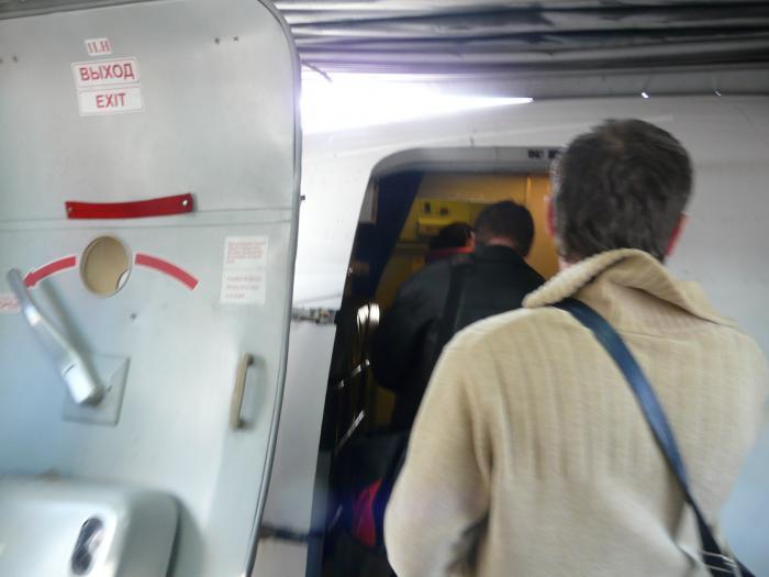 Посадка на рейс Гамбург-Петербург
