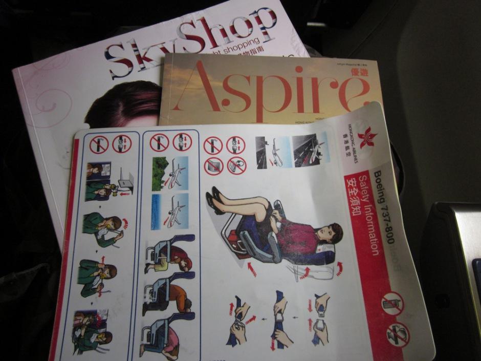 Board magazines of Hong Kong Airlines