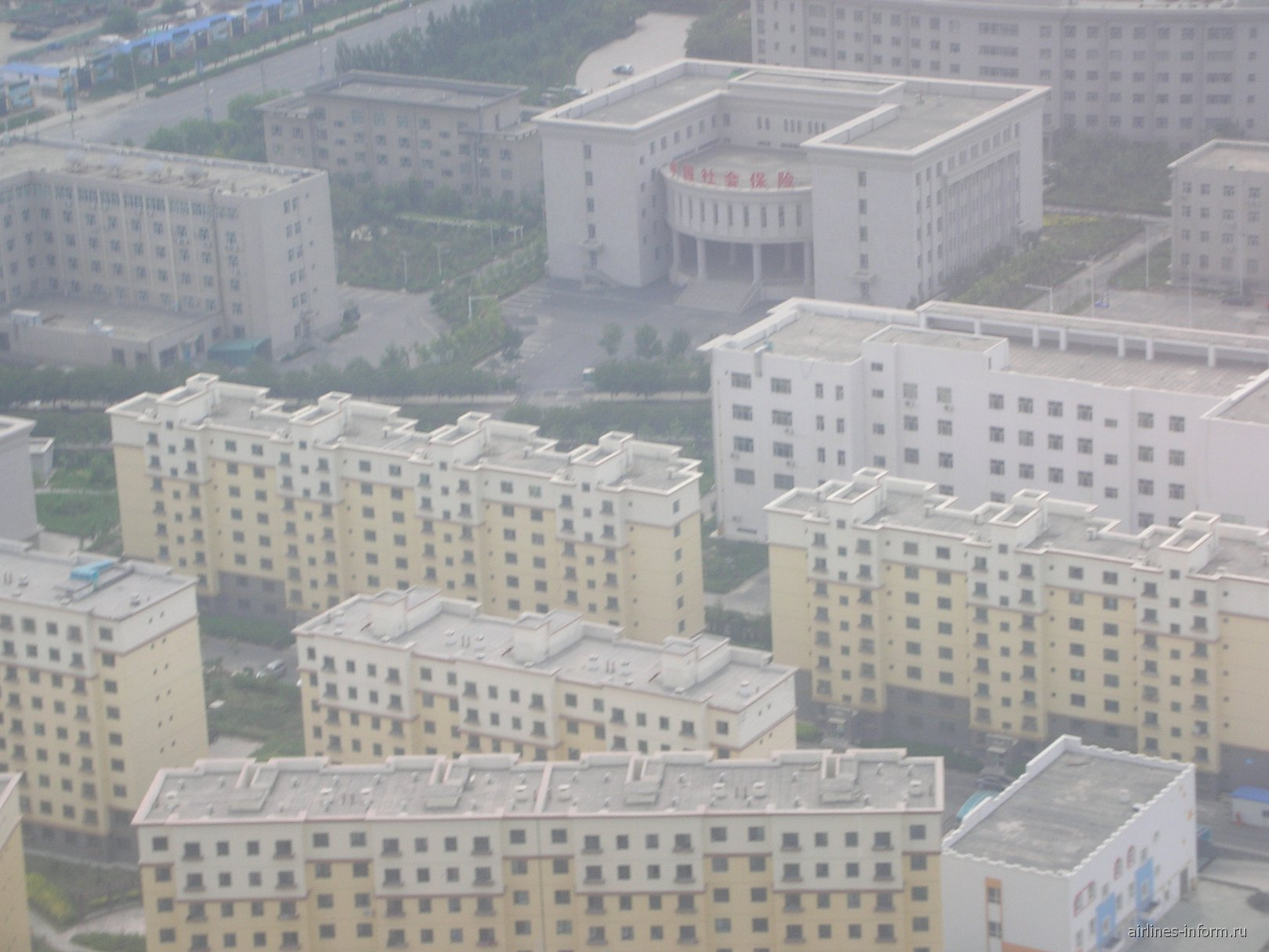 Город Урумчи в Китае