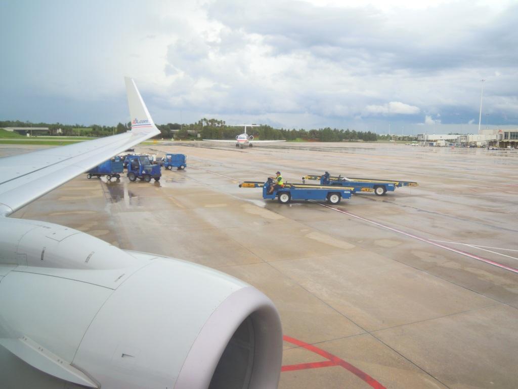 В аэропорту Орландо