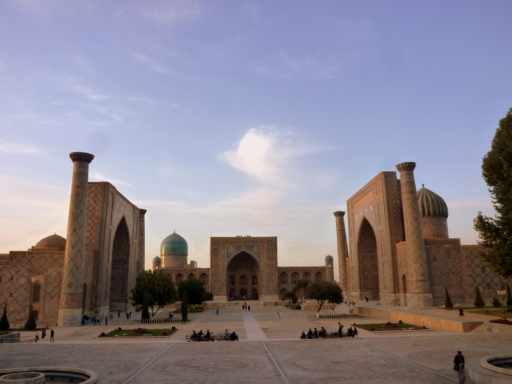 Sights of Samarkand: the legendary registan