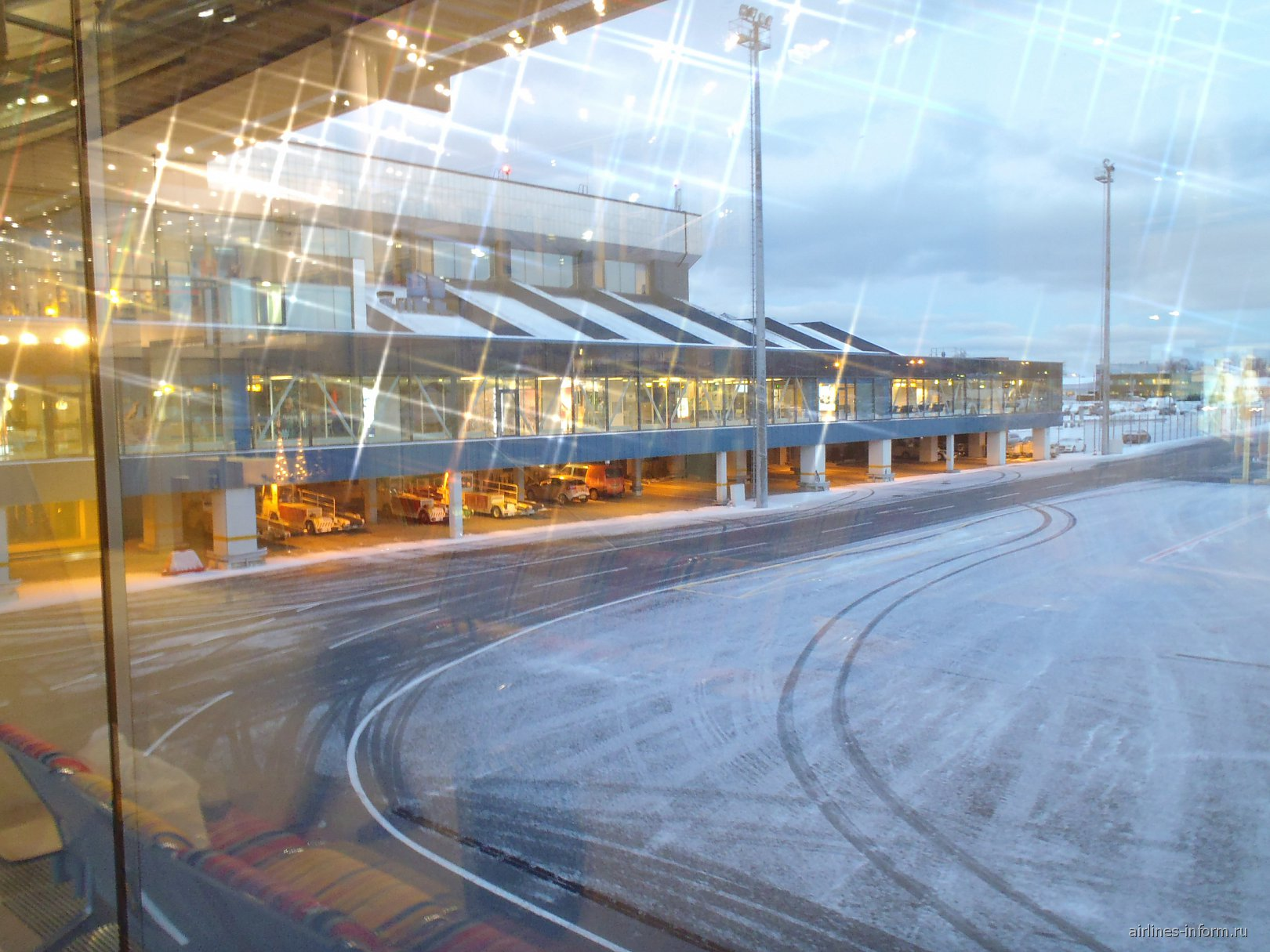 Пассажирский терминал аэропорта Таллин