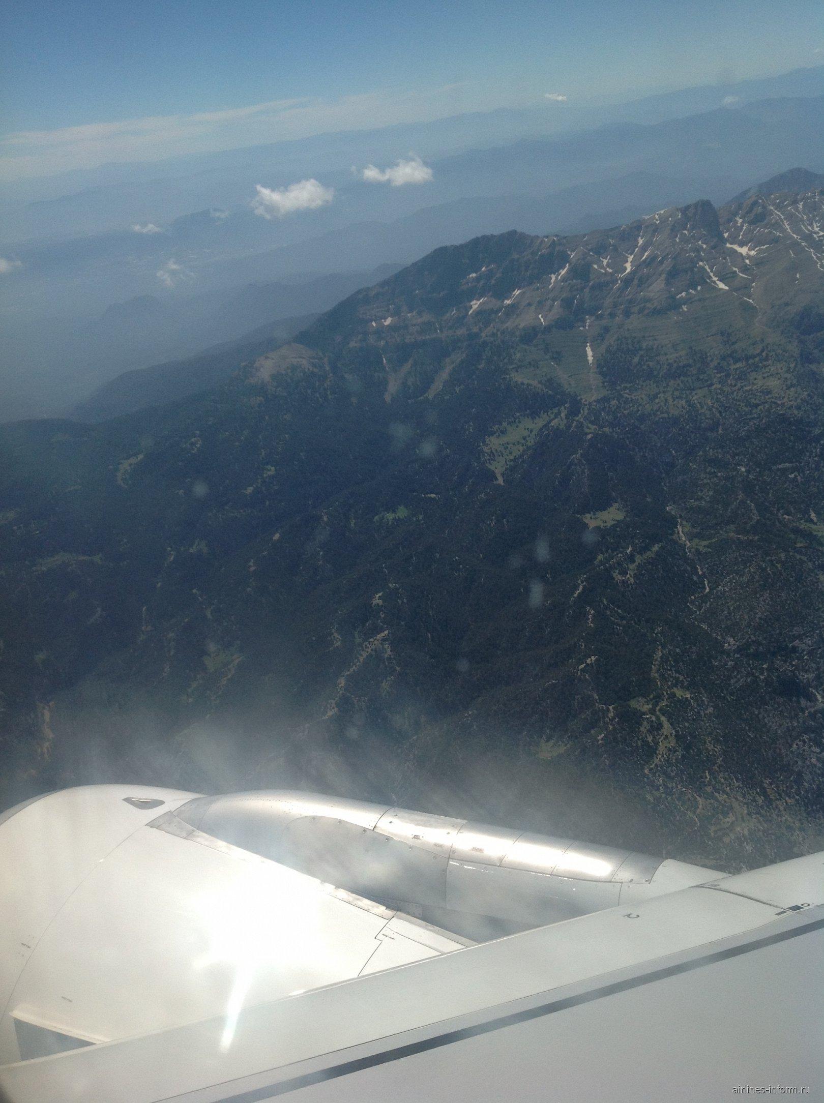 В полете над Турцией