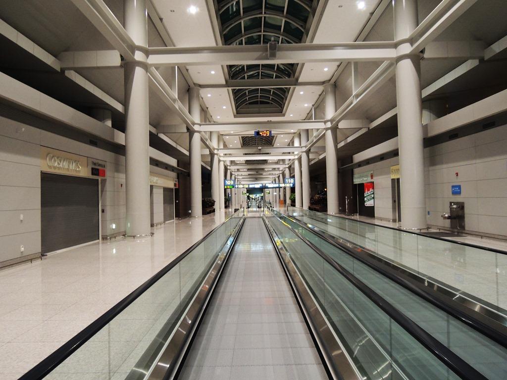 Травалатор в аэропорту Сеул Инчхон