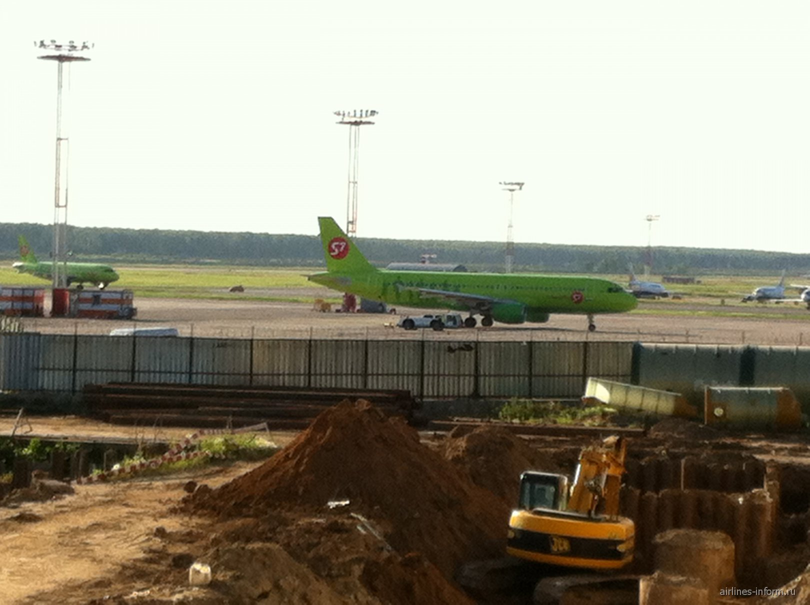 A320 и A319 S7 Airlines