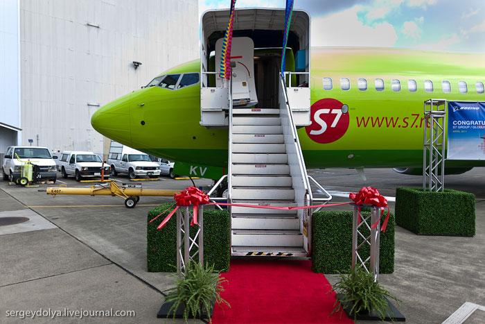 Новый Боинг-737-800 авиакомпании Глобус