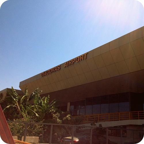 Аэропорт Диагорас на острове Родос