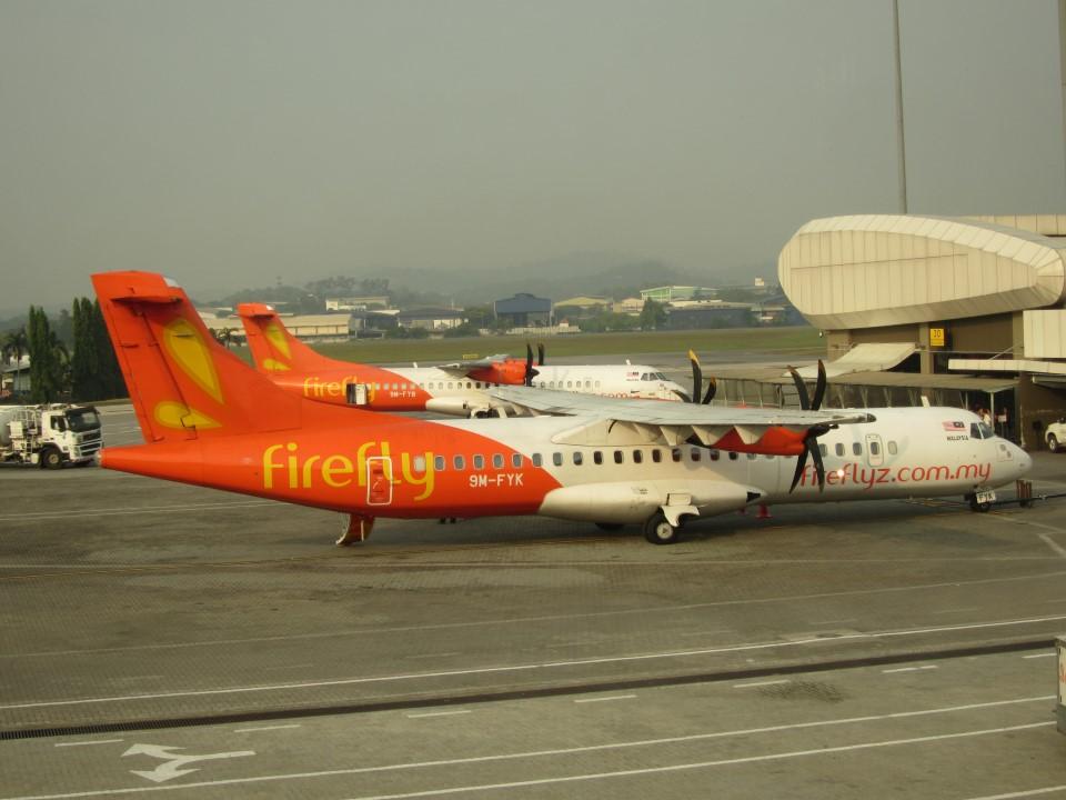 ATR 72 авиакомпании Firefly в аэропорту Субанг Султан Абдул Азиз Шах