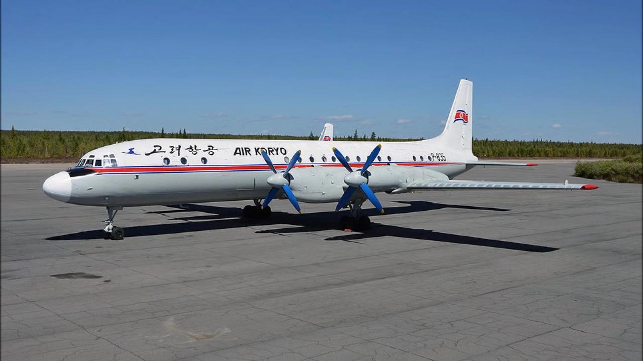 Перелет на Ilyushin Il-18D по Северной Корее национальным перевозчиком Air Koryo
