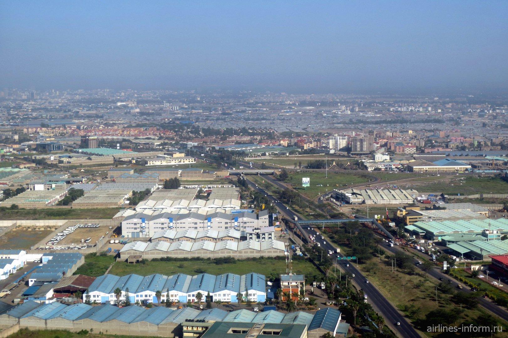 Город Найроби в Кении