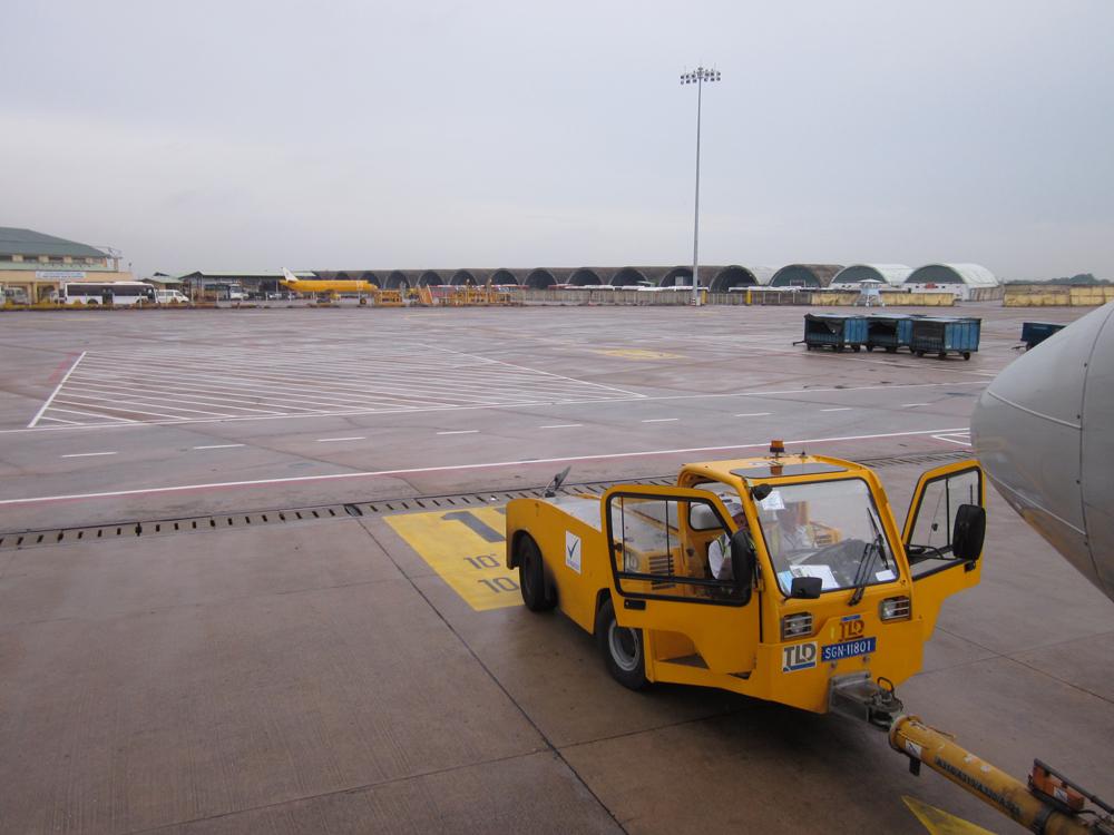 В аэропорту Хошимин