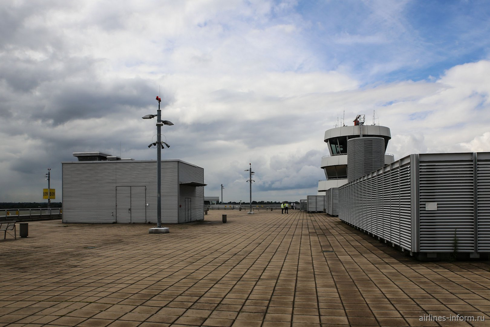 Смотровая площадка в аэропорту Дюссельдорфа