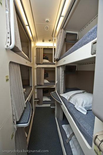 Каюта экипажа Airbus A380 Emirates