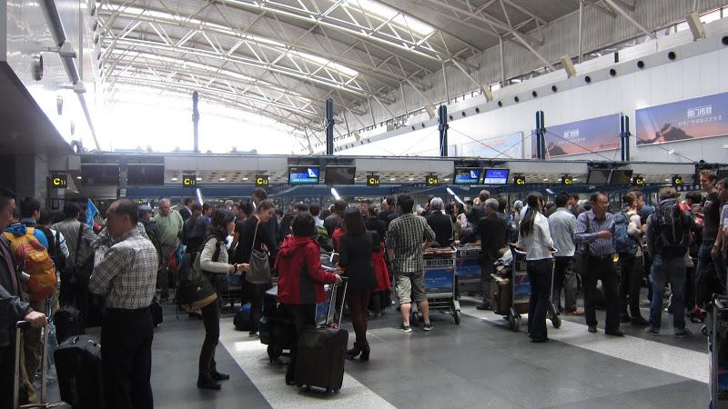 В аэропорту Пекина