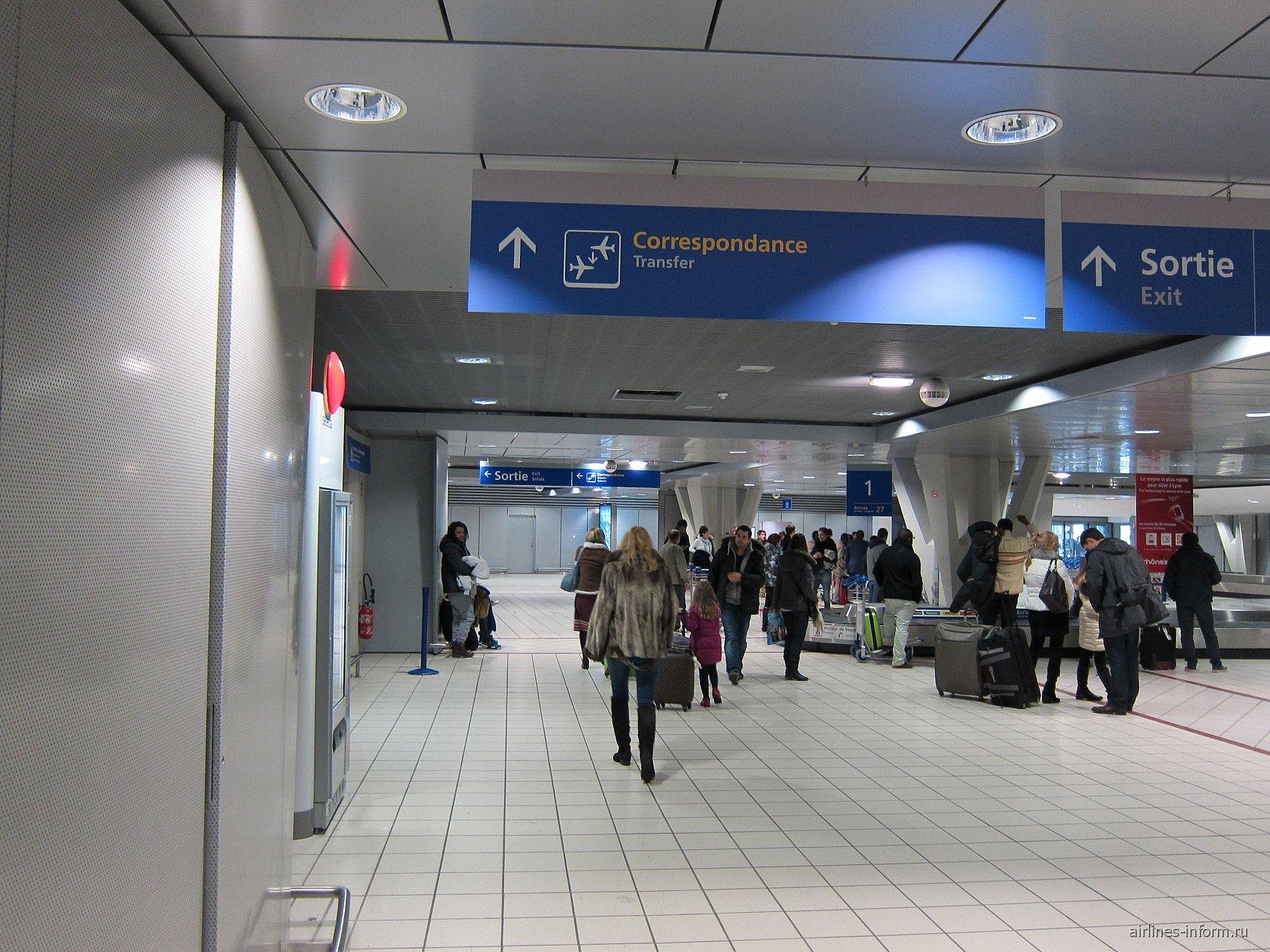 Аэропорт Лиона Сент-Экзюпери