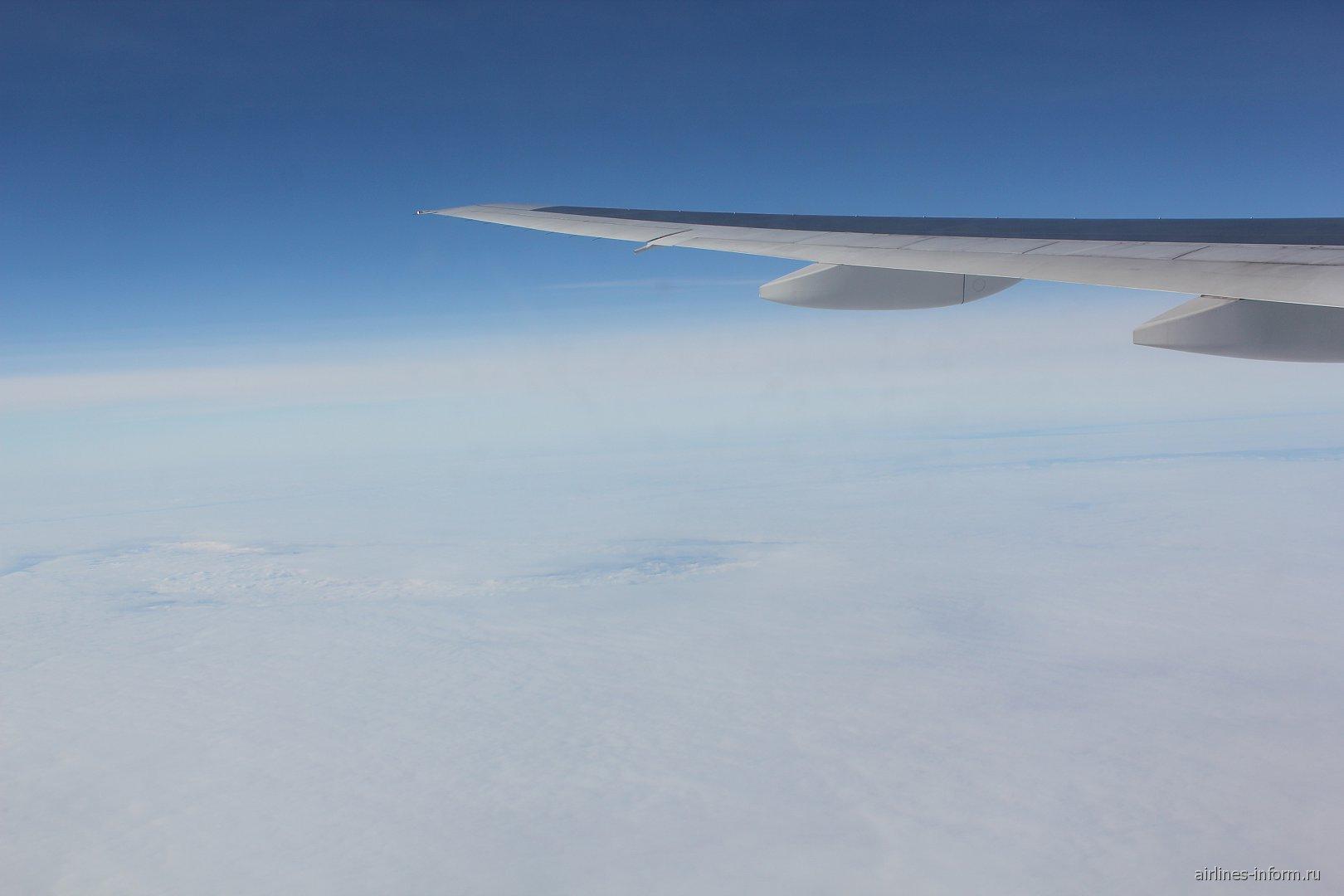 Рейс Новосибирск-Москва авиакомпании Трансаэро
