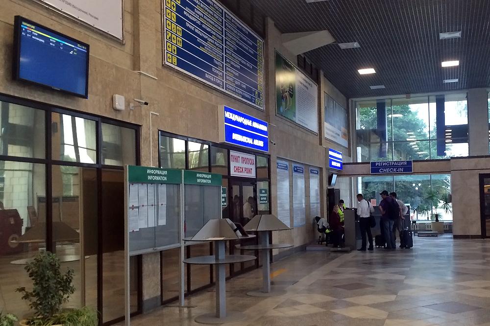 В аэропорту Липецк