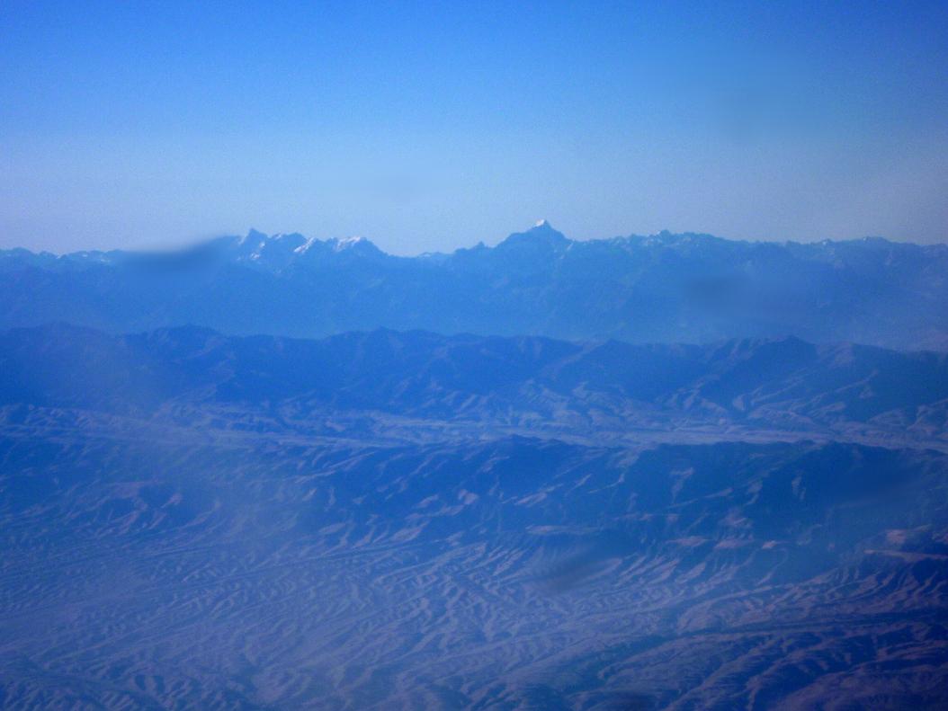 Вид на гору Зарафшан
