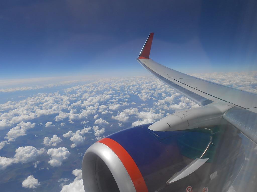 В Новосибирск на выходные, Шереметьево - Новосибирск, Боинг-737, Аэрофлот