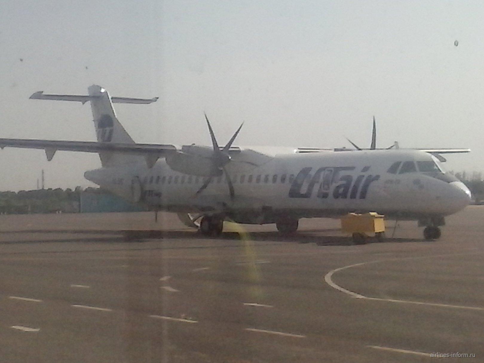 ATR 72 авиакомпании ЮТэйр Экспресс