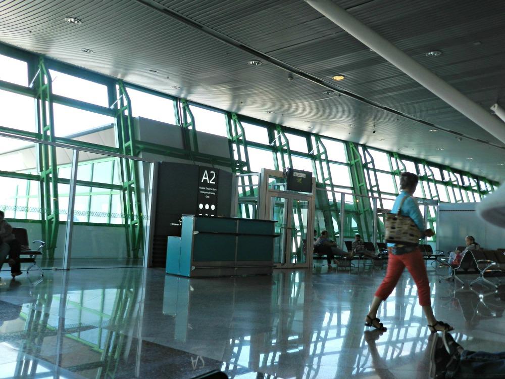 Выходы на посадку в аэропорту Астана