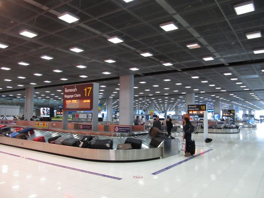 Зал выдачи багажа в аэропорту Бангкок Суварнабхуми