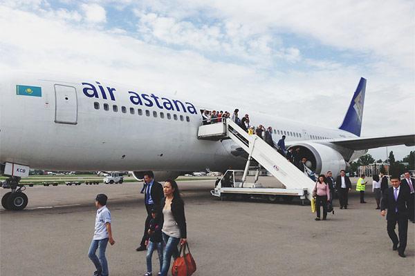 Перелет внутри Казахстана: рейс Астана-Алматы с Air Astana