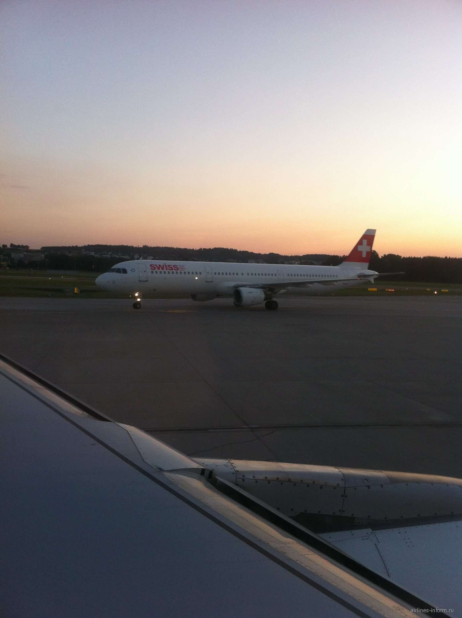 A321 Swiss