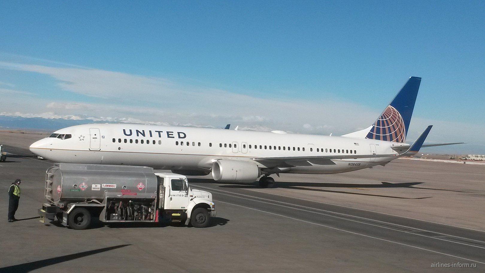 Денвер - Бостон с United Airlines или мой опаснейший полет который я видел!