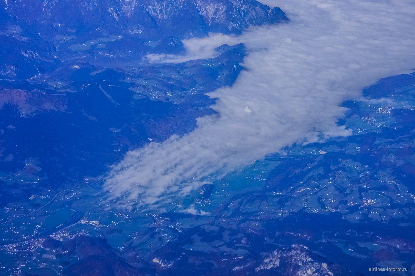 Горная долина в Австрии
