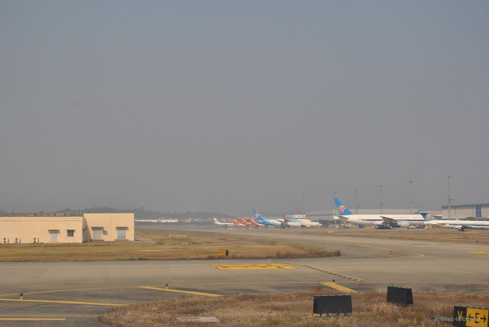 В аэропорту Гуанчжоу