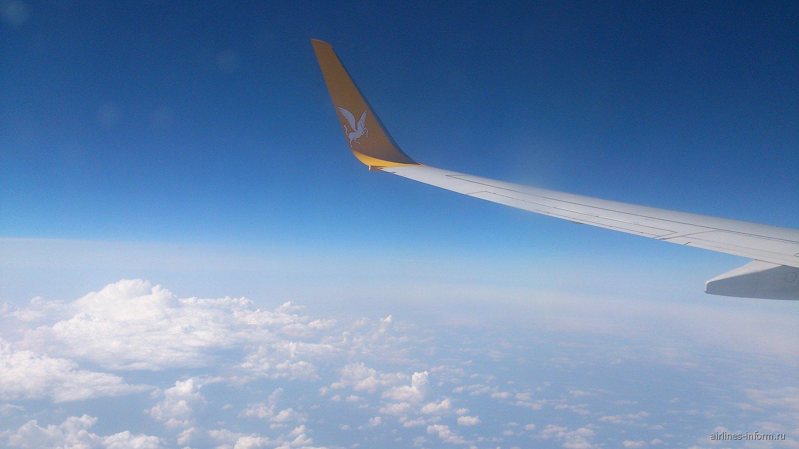 Рейс Стамбул-Москва авиакомпании Пегасус