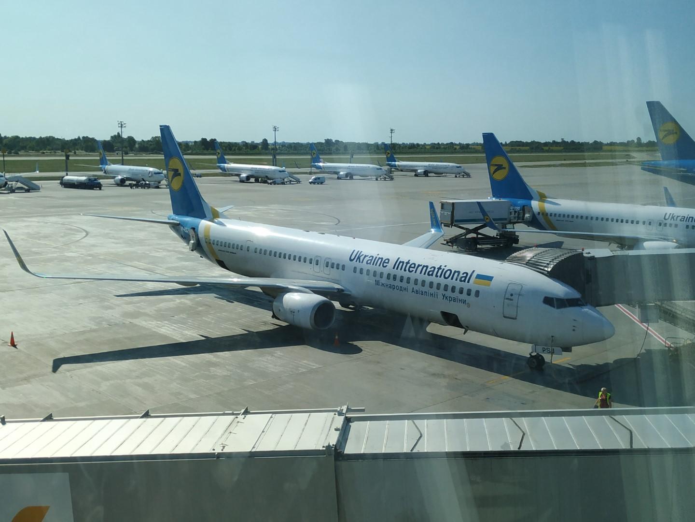Город на Амстеле. Т-Ф Борисполя. И полет.