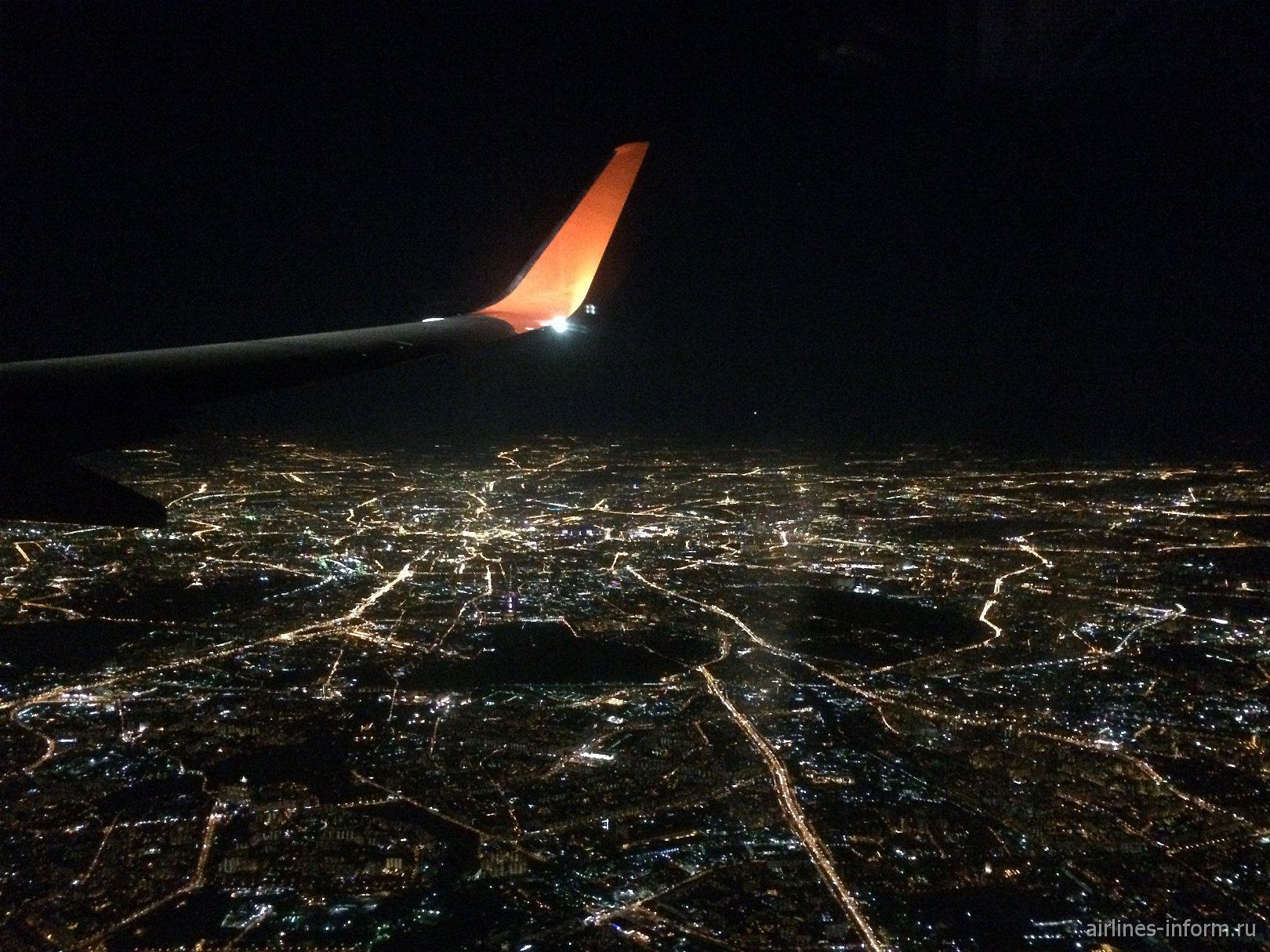 Берлин (Шёнефельд) - Москва (Шереметьево) с Аэрофлот на новом Боинг 737-800