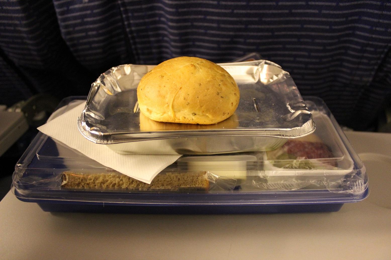 Питание на рейсе Москва-Норильск авиакомпании Таймыр