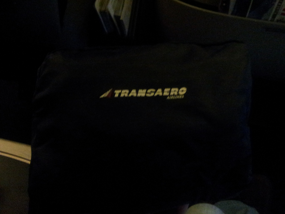 Дорожный набор бизнес-класса авиакомпании Трансаэро