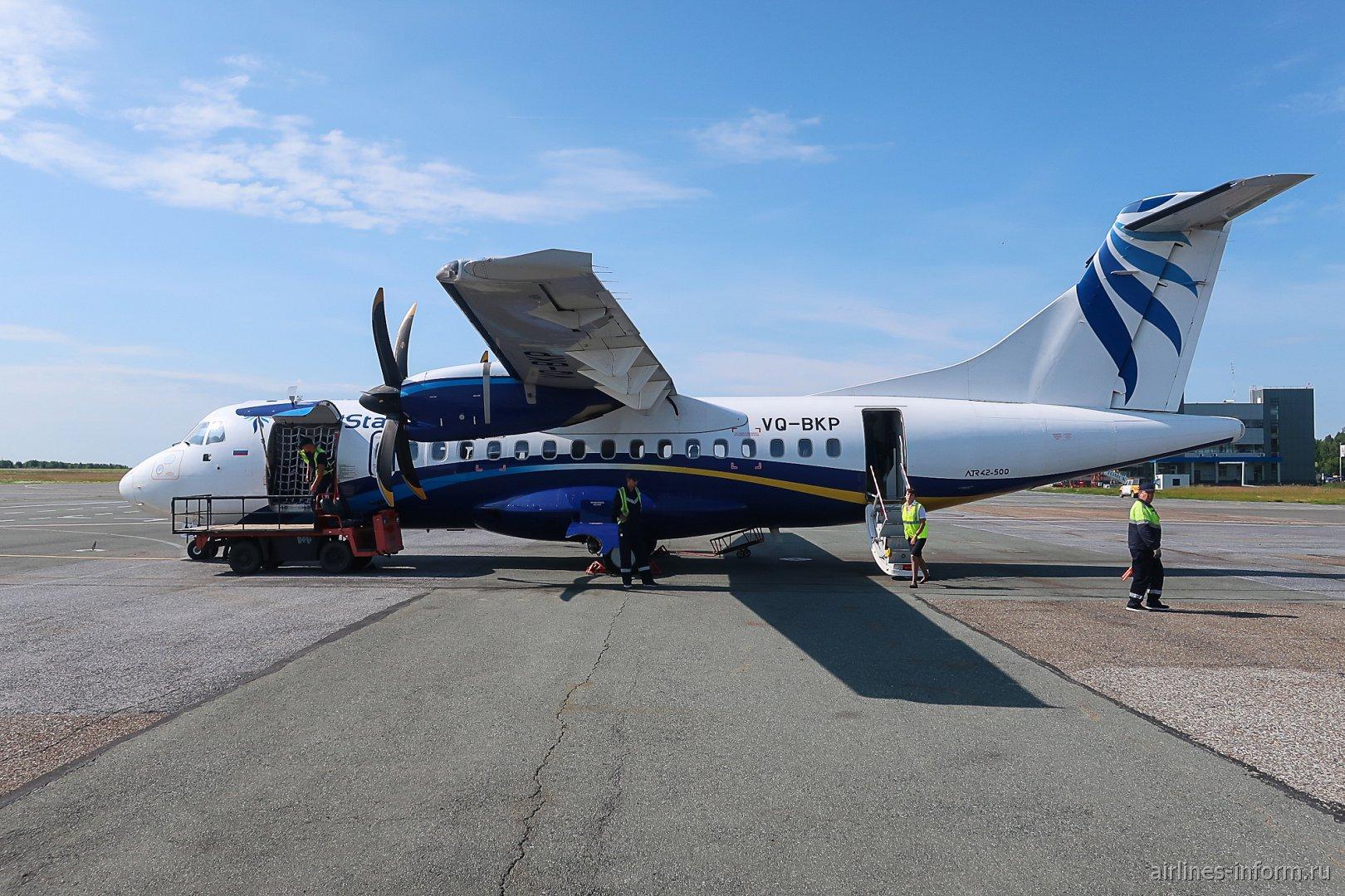 Красноярск-Томск на ATR 42 авиакомпании NordStar