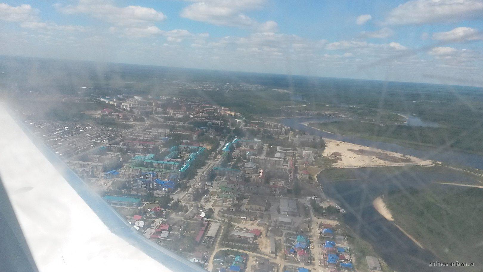 Взлет из аэропорта Урай