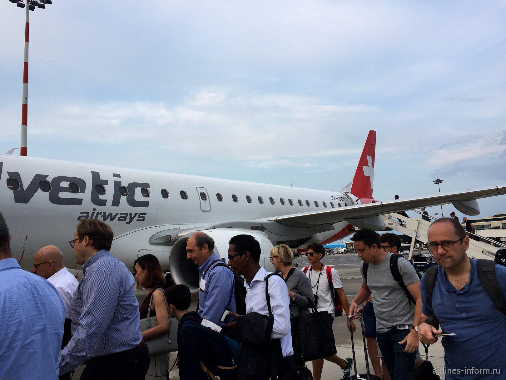 «Из немецко-итальянских записок..». Часть 3: Милан - Цюрих с Helvetic Airways: подстава от Eurowings и внеплановый заезд в Швейцарию