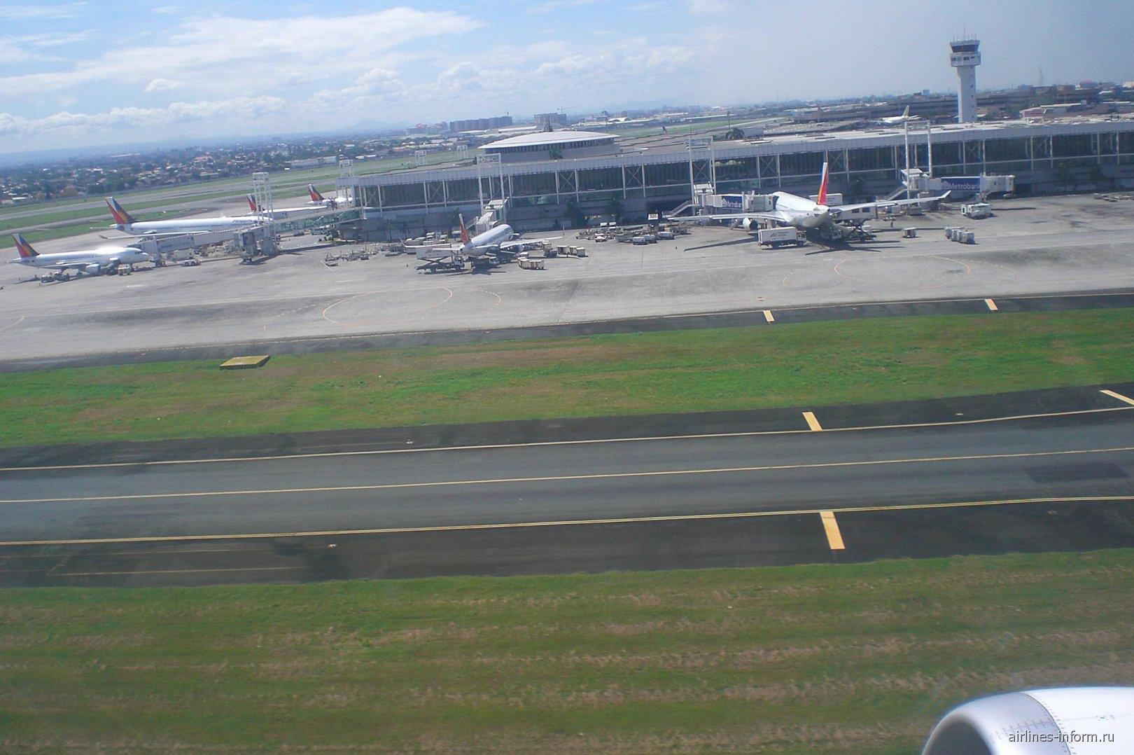 Взлет из аэропорта Манила