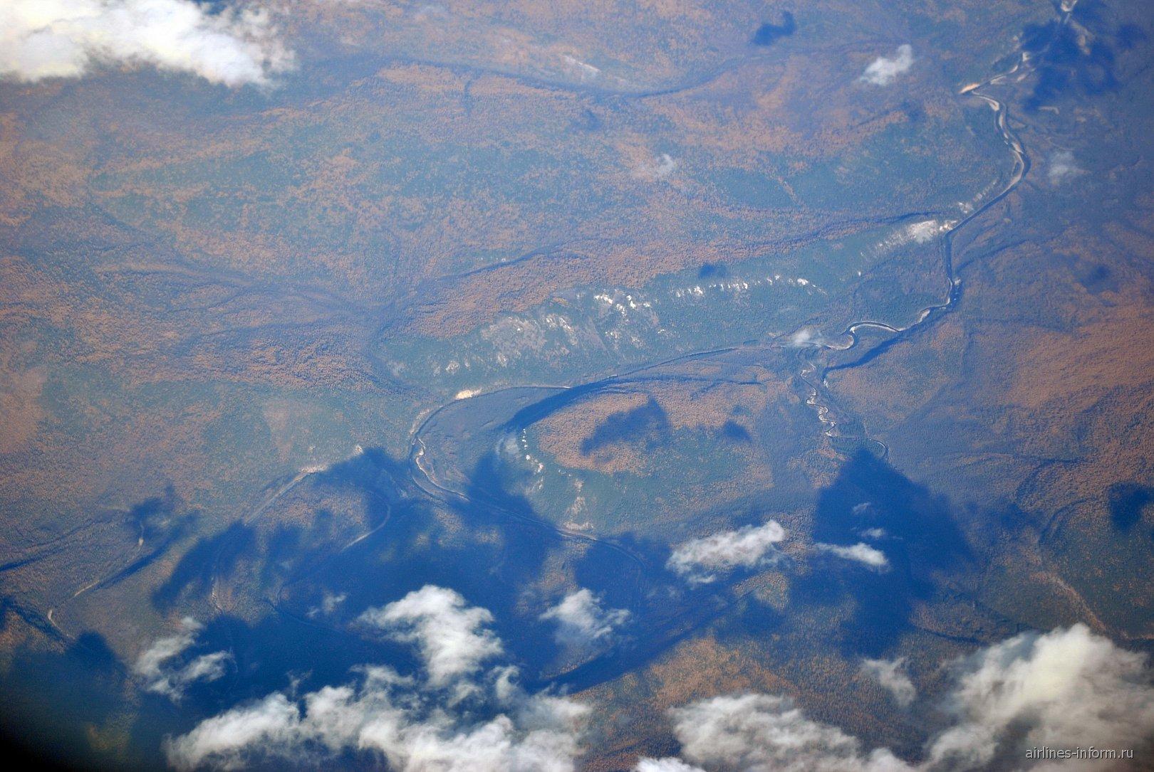 В полете над Восточной Сибирью