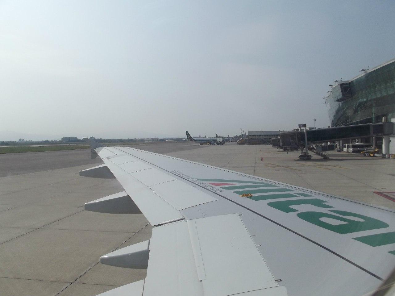 Крыло самолета Эрбас А-319